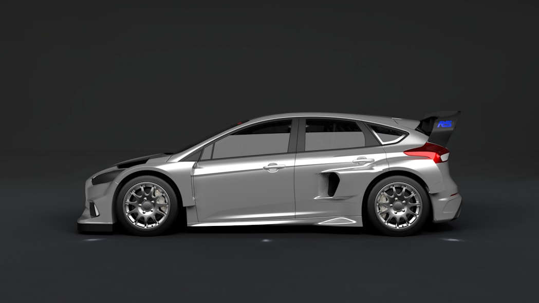 ford focus rs rallycross