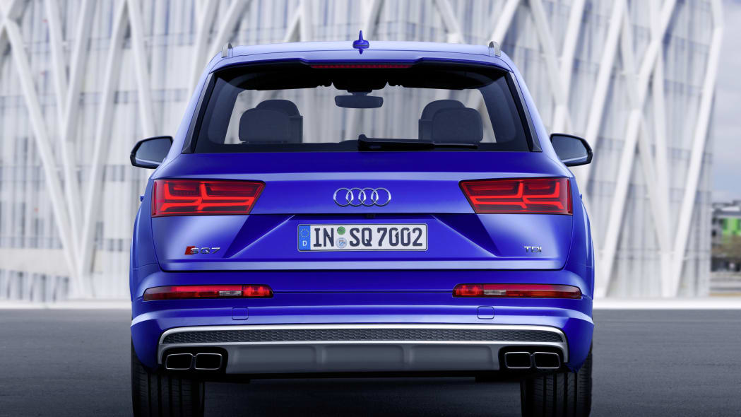 Audi SQ7 TDI rear