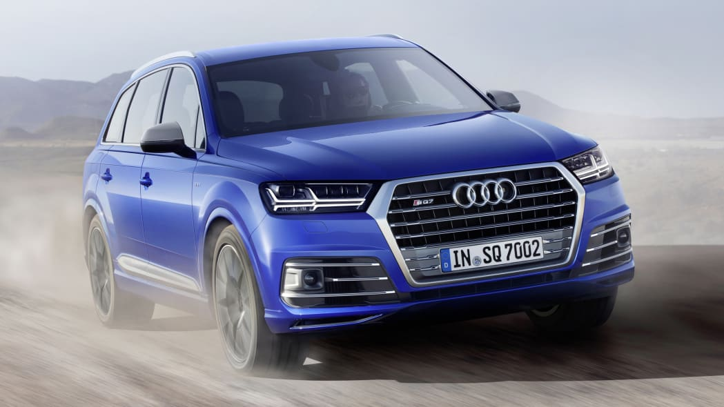 Audi SQ7 TDI off-road front 3/4