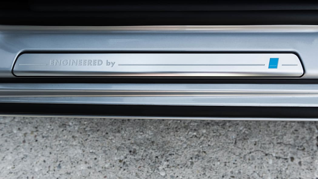 Polestar Performance Parts sill plate