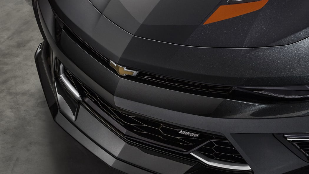 2017 chevy camaro 50th anniversary edition grille