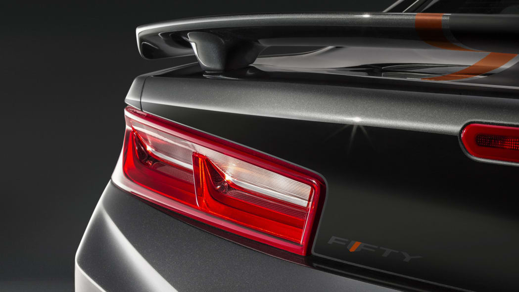2017 chevy camaro 50th anniversary edition taillight