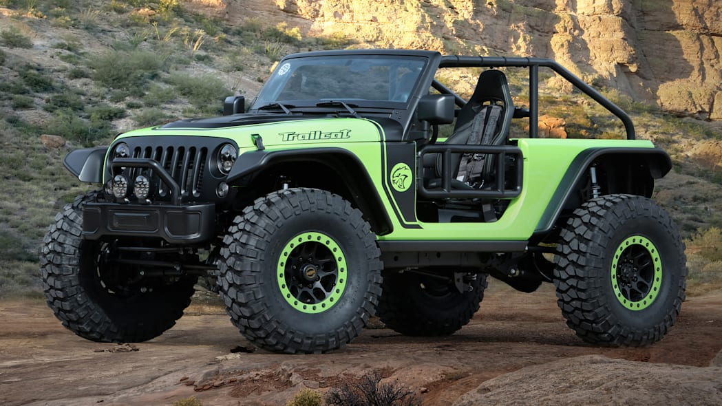 Jeep Wrangler Trailcat Concept front