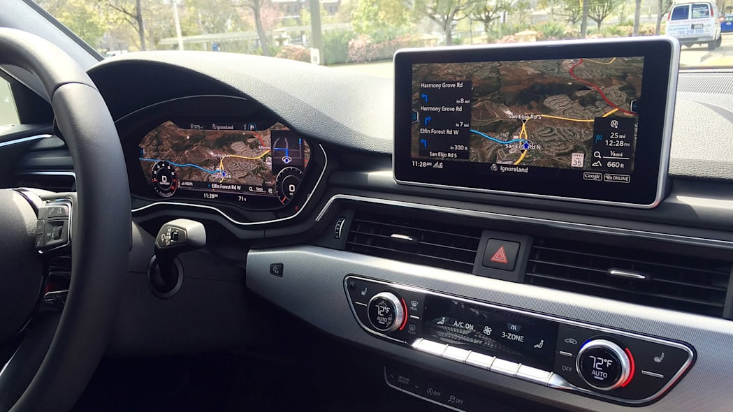 2017 Audi A4 infotainment system