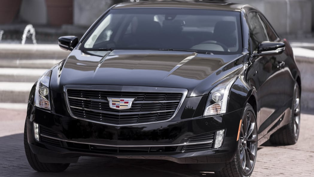 Cadillac ATS coupe with Black Chrome Package