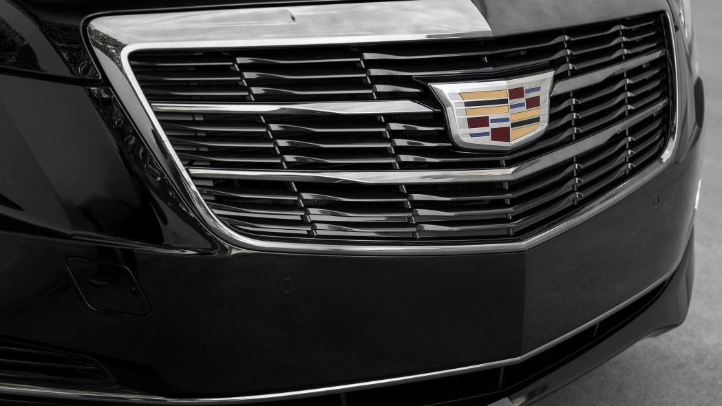 Cadillac ATS coupe with Black Chrome Package grille