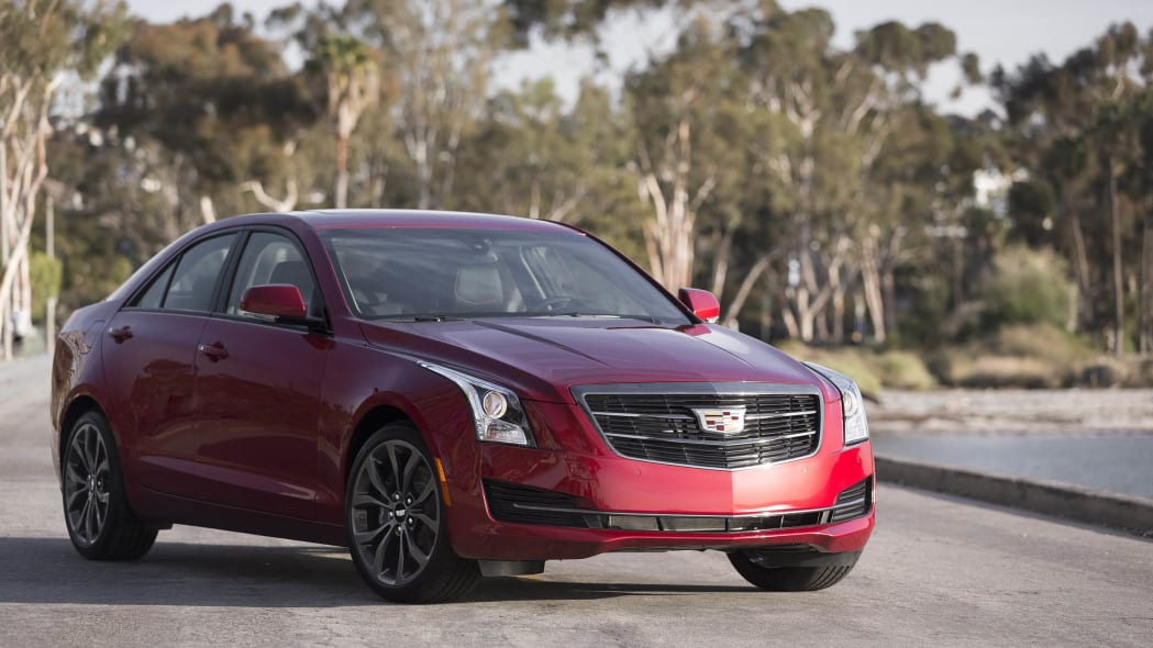 Cadillac ATS sedan with Black Chrome Package