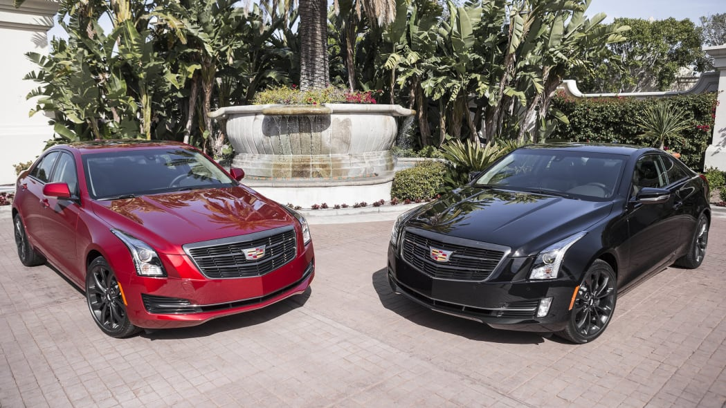 Cadillac ATS sedan and ATS coupe with Black Chrome Package