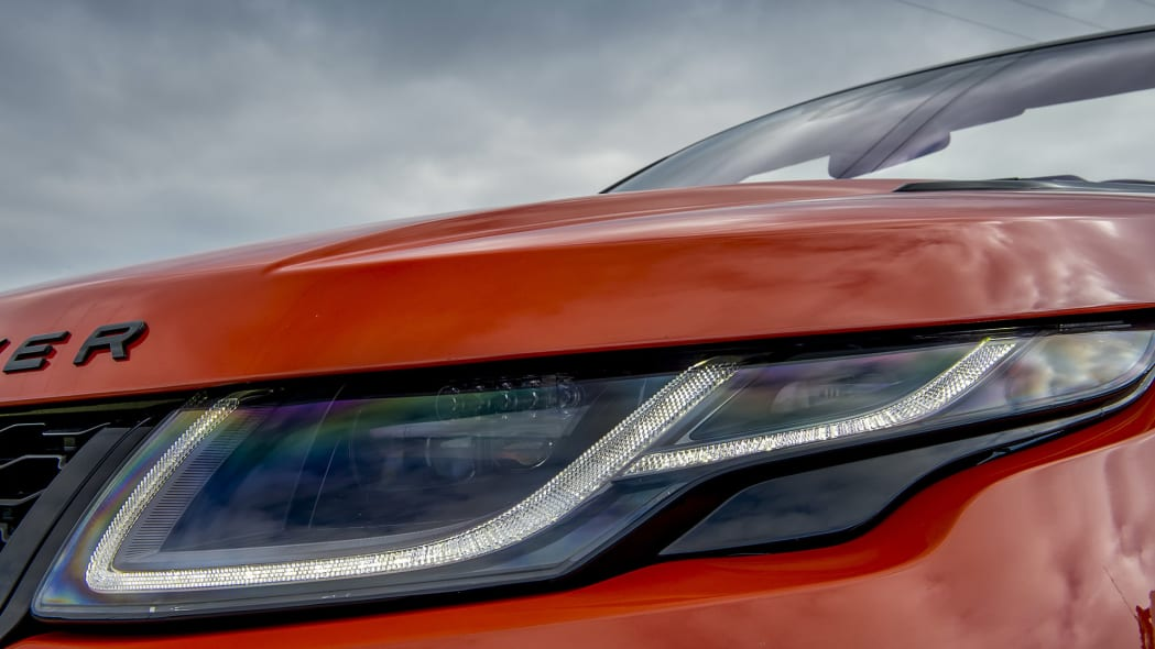 2017 Land Rover Range Rover Evoque Convertible headlight