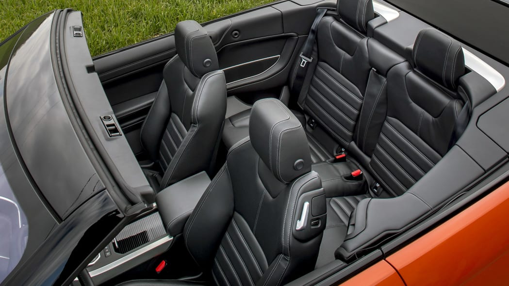 2017 Land Rover Range Rover Evoque Convertible seats