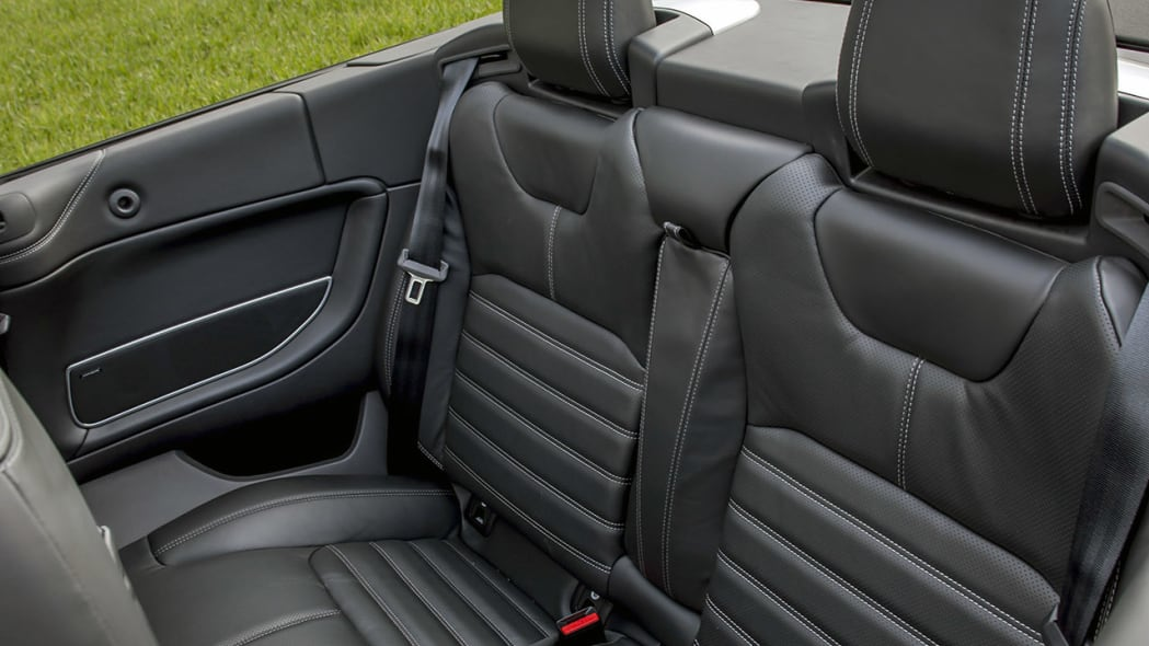 2017 Land Rover Range Rover Evoque Convertible rear seats