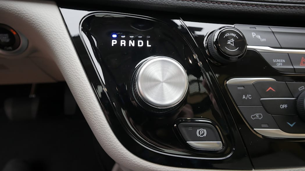 2017 Chrysler Pacifica gear selector