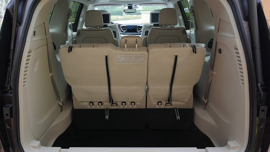 2017 Chrysler Pacifica rear cargo area