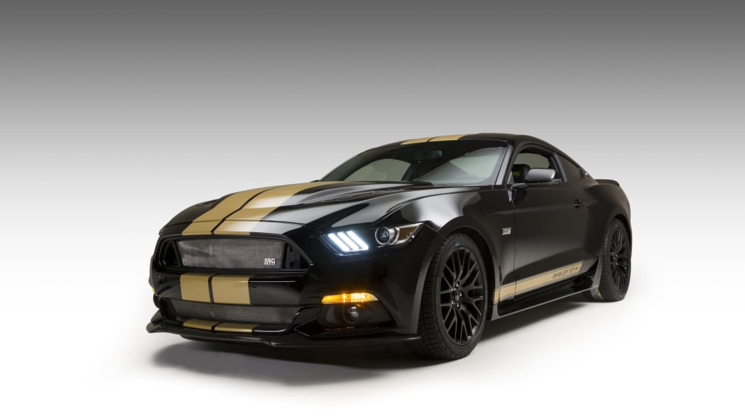 2016 ford shelby gt-h three quarters