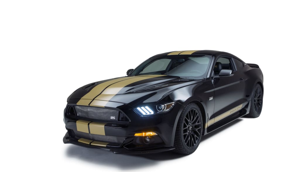 2016 ford shelby gt-h front three quarters lights