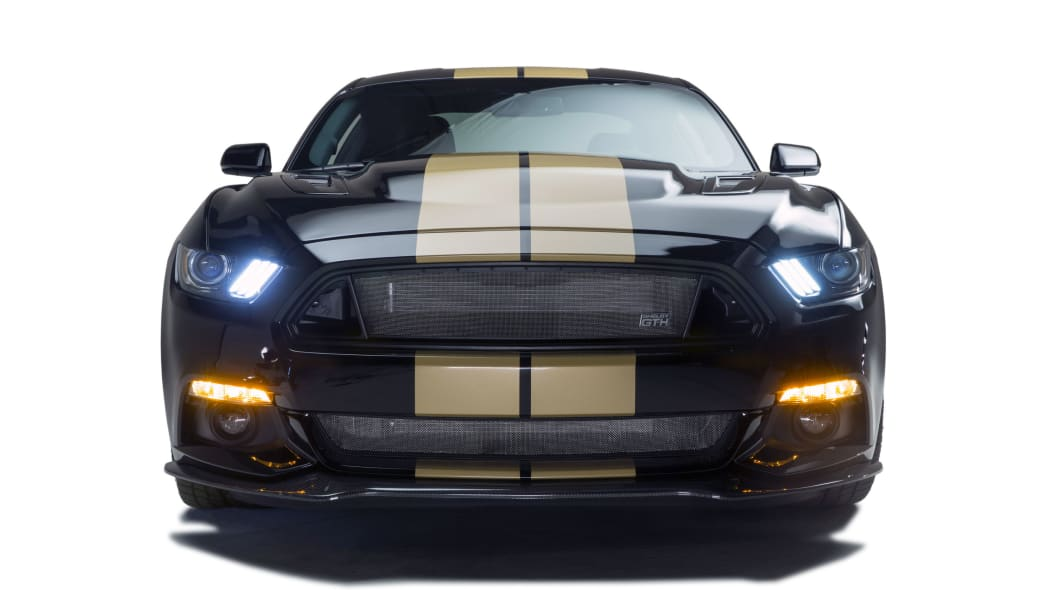 2016 ford shelby gt-h front lights on