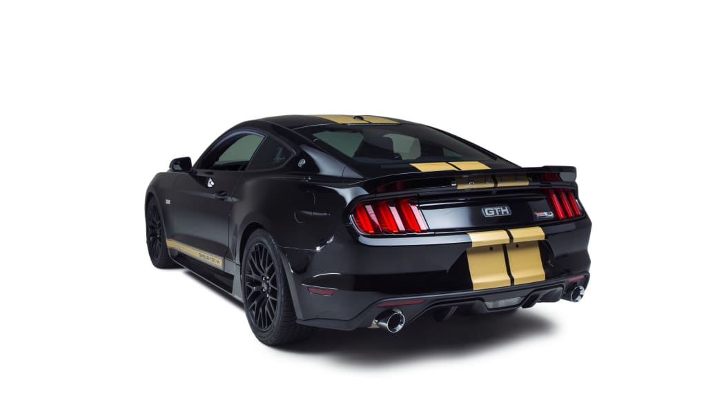 2016 ford shelby gt-h rear three quarters