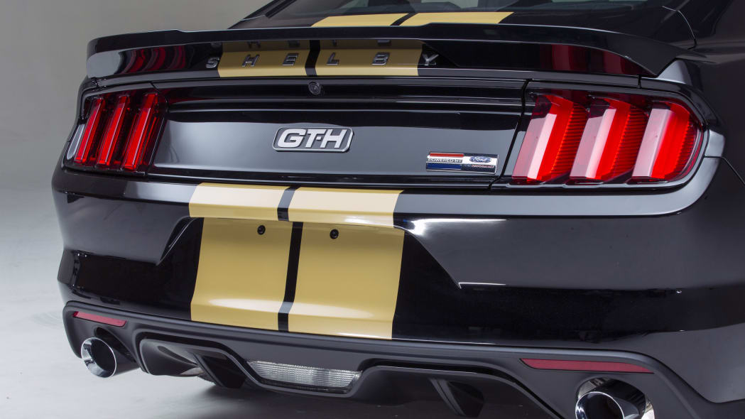 2016 ford shelby gt-h rear emblem