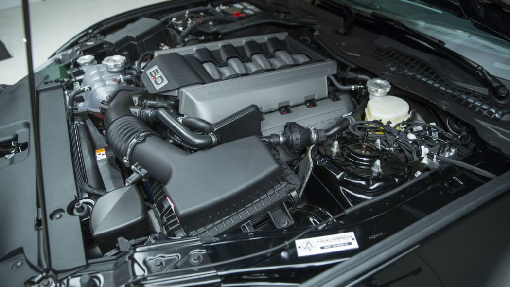2016 ford shelby gt-h under hood