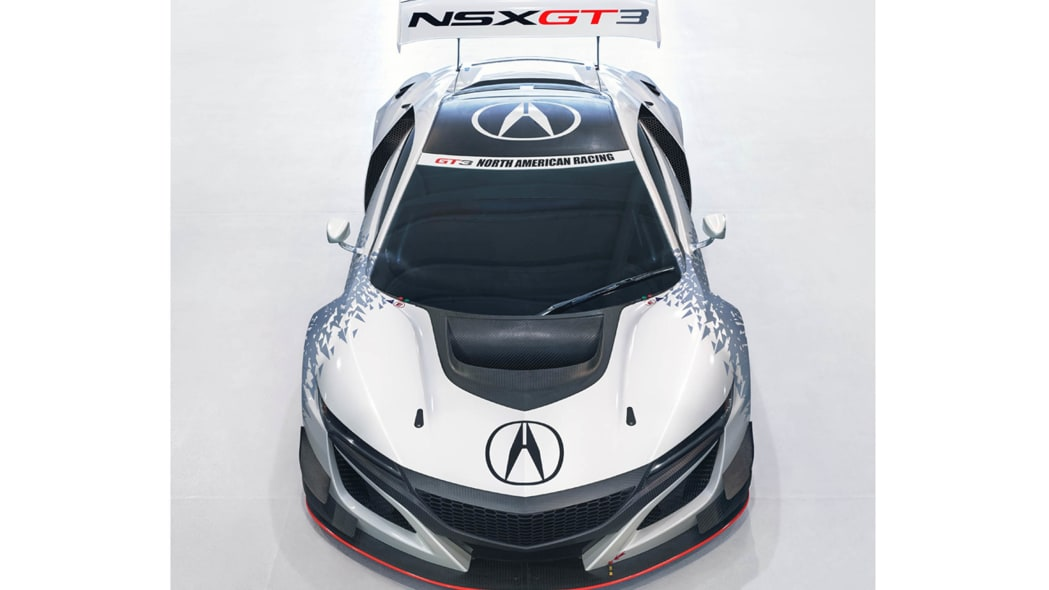 Acura NSX GT3 front top