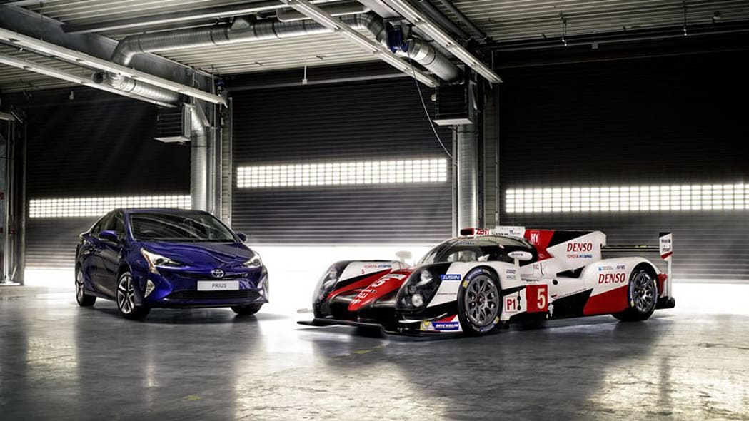 toyota ts050 hybrid with prius