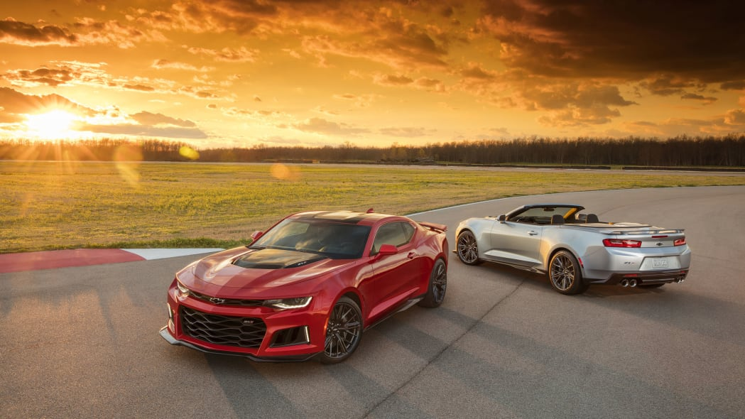 2017 chevrolet camaro zl1 convertible with coupe