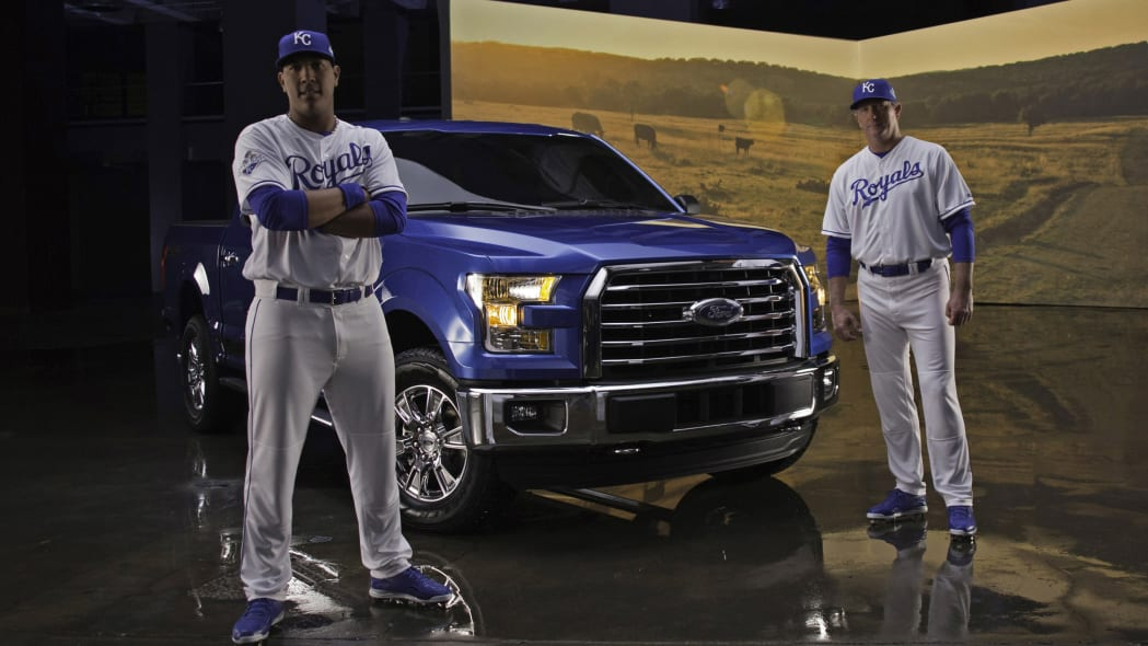 2016 Ford F-150 MVP Edition Kansas City Royals Bret Saberhagen Salvador Perez