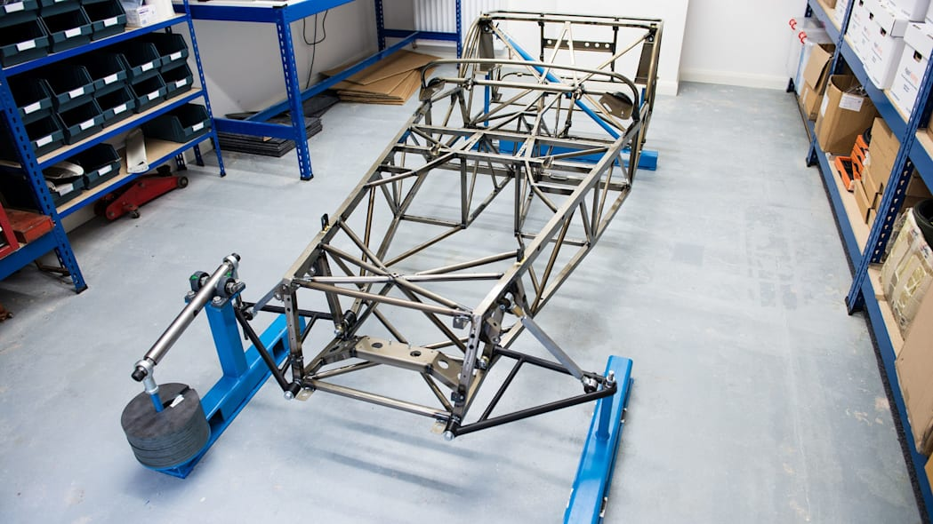 caterham seven butted tube prototype