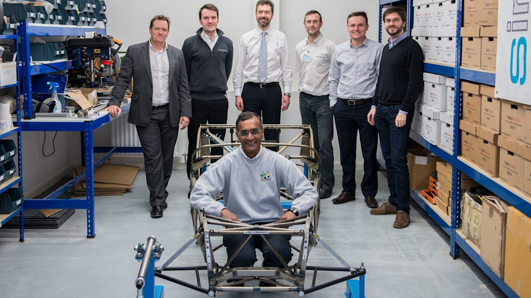caterham seven butted tube prototype builders