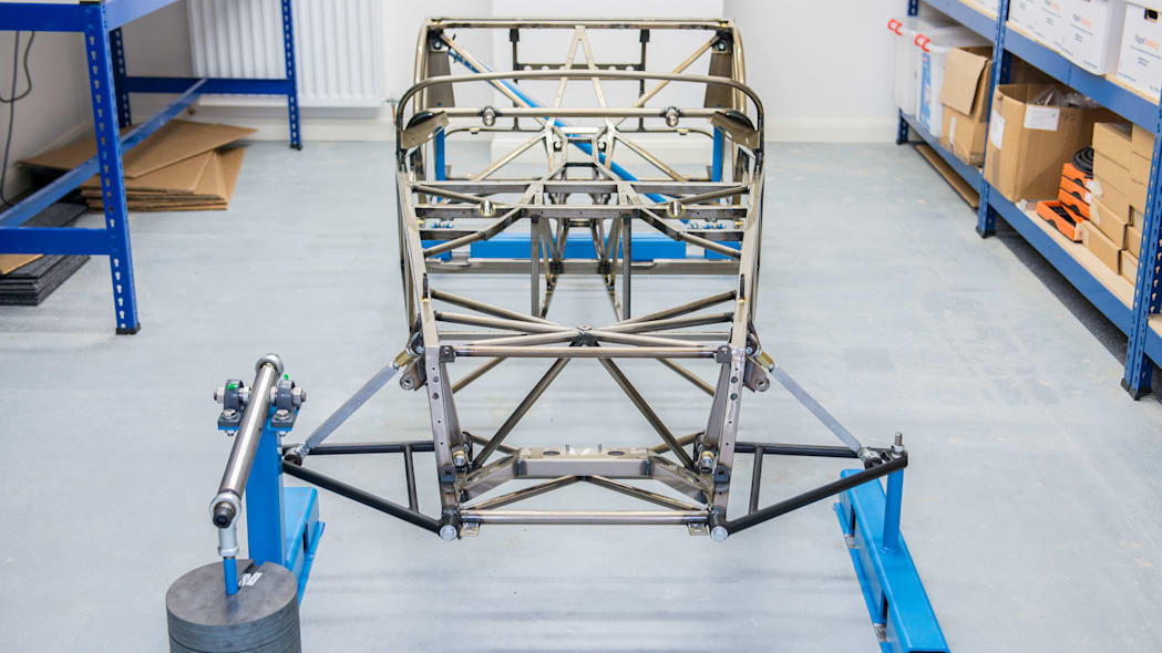 caterham seven butted tube prototype front