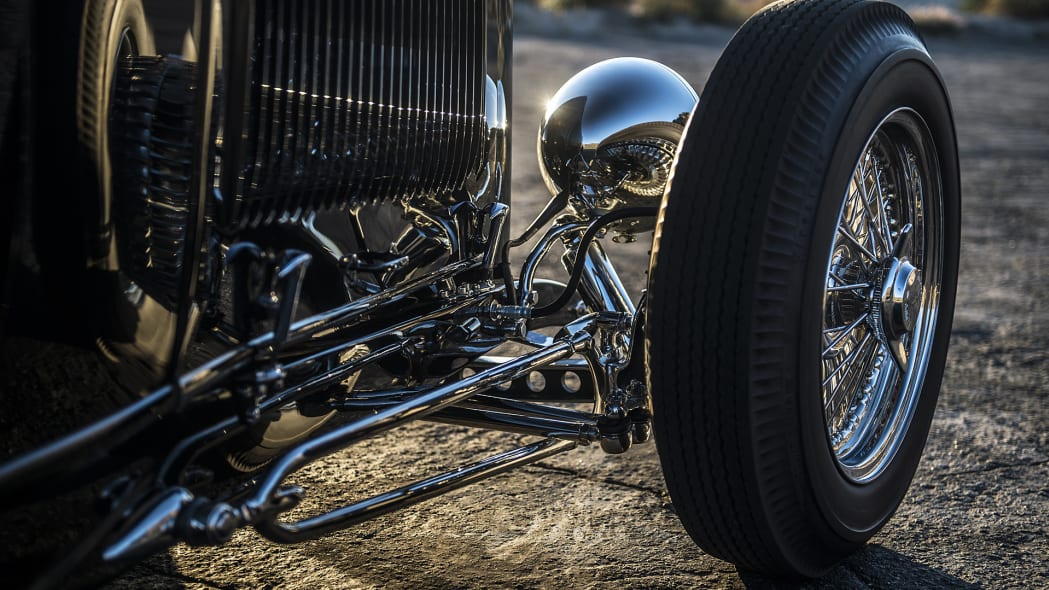 Hollywood Hot Rods 1932 Ford Roadster front suspension