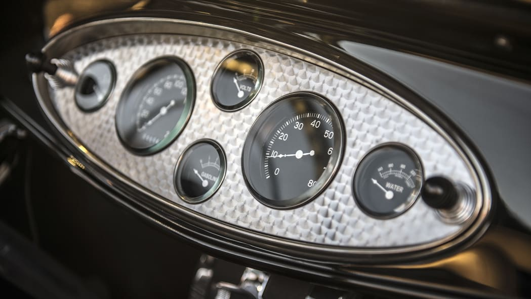Hollywood Hot Rods 1932 Ford Roadster gauges