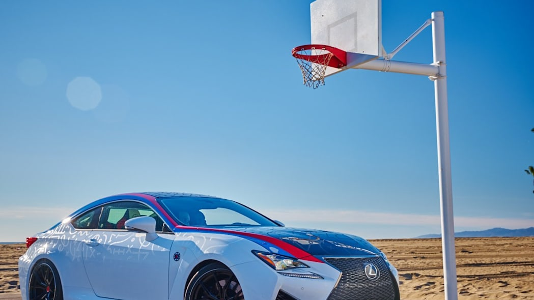 Lexus RC F Clippers Edition