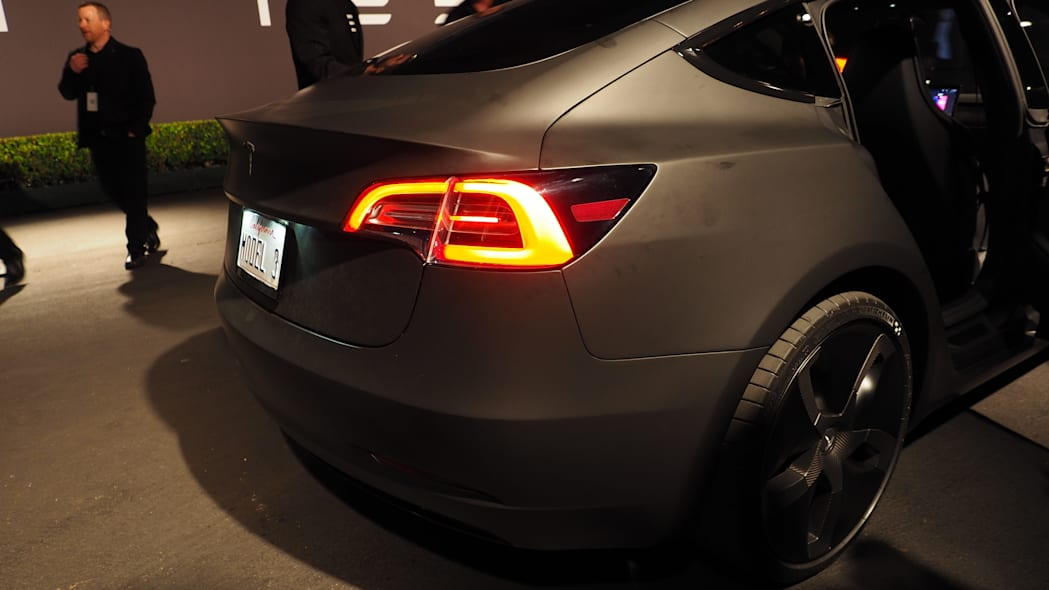 Tesla Model 3 rear lights