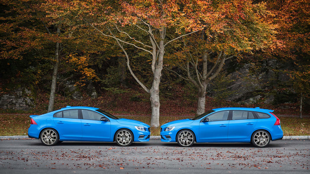 2017 volvo s60 and v60 polestar profile