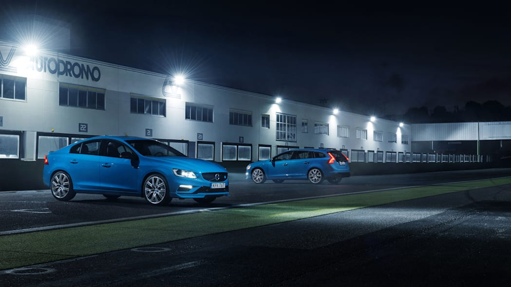 2017 volvo s60 and v60 polestar sides