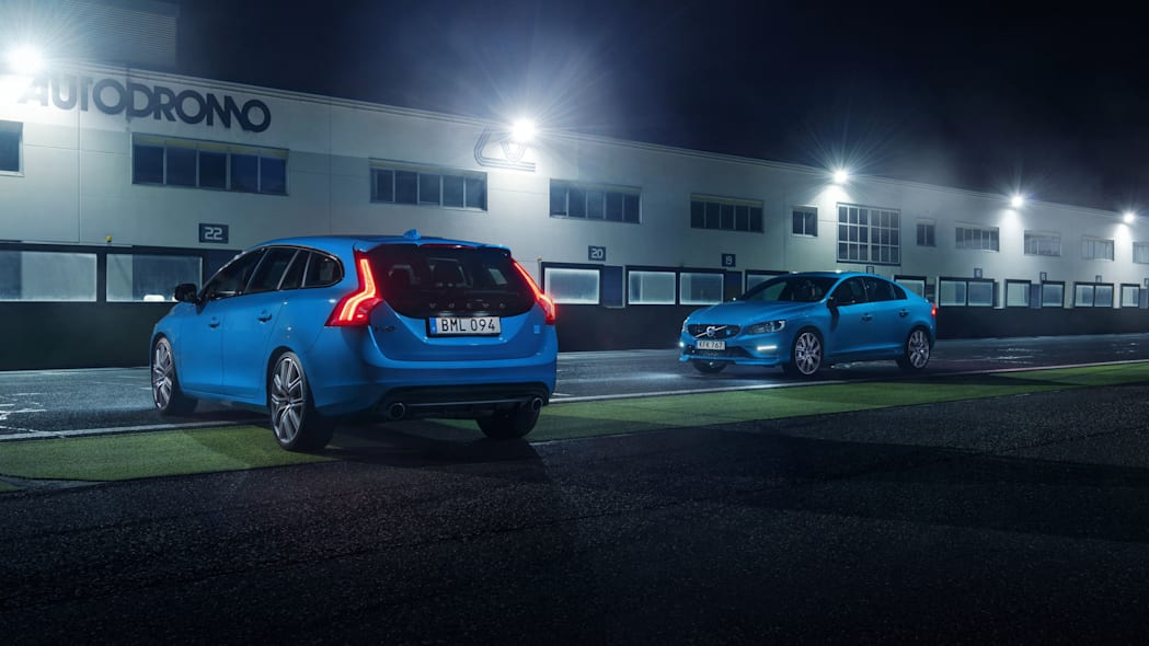 2017 volvo s60 and v60 polestar rear and side