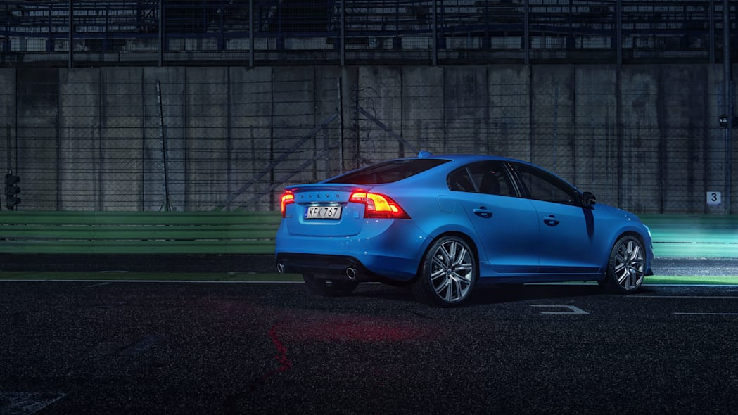 2017 volvo s60 polestar rear three quarters