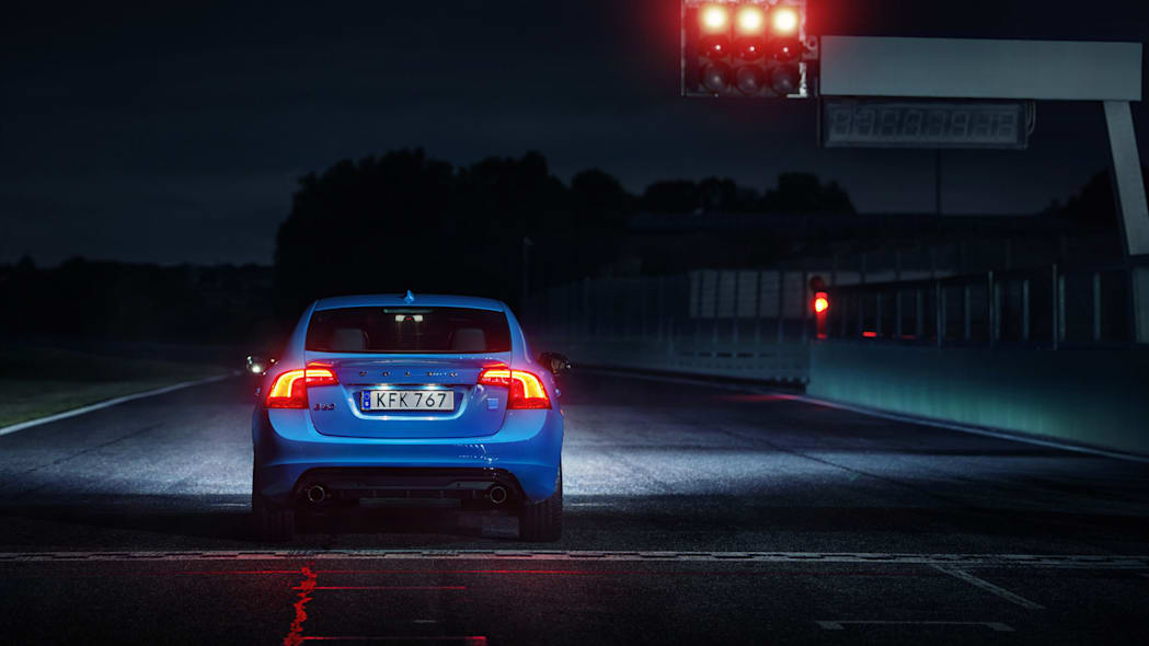2017 volvo s60 polestar rear night