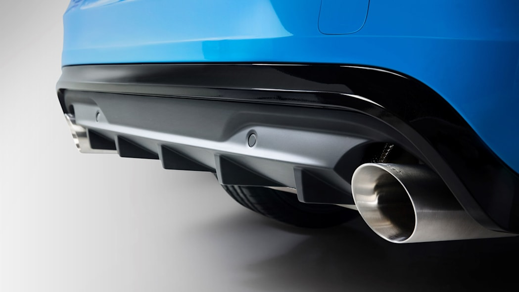 2017 volvo v60 and s60 polestar exhaust