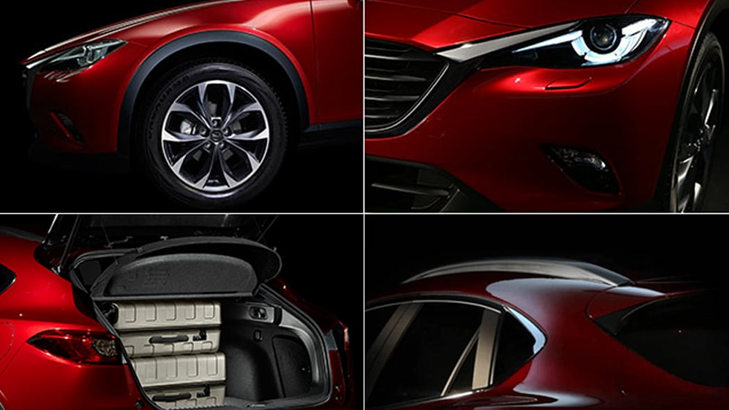 Details of the Mazda CX-4.