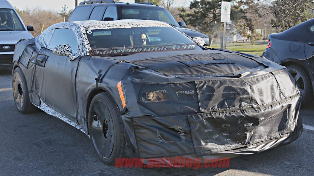 chevy camaro z28 spy shot