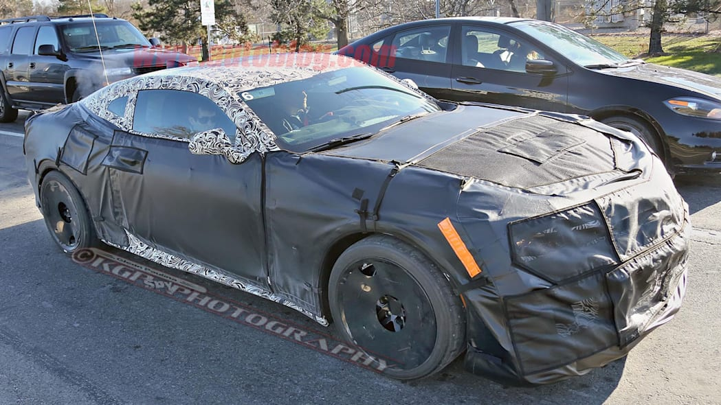chevy camaro z28 spy shot side
