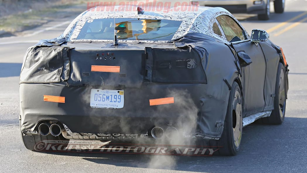 chevy camaro z28 spy shot rear