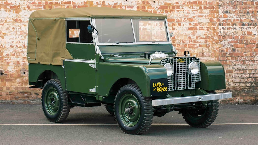Land Rover Series 1 front 3/4 restored