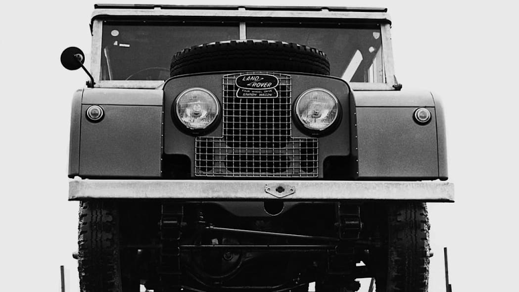 Land Rover Series 1 front