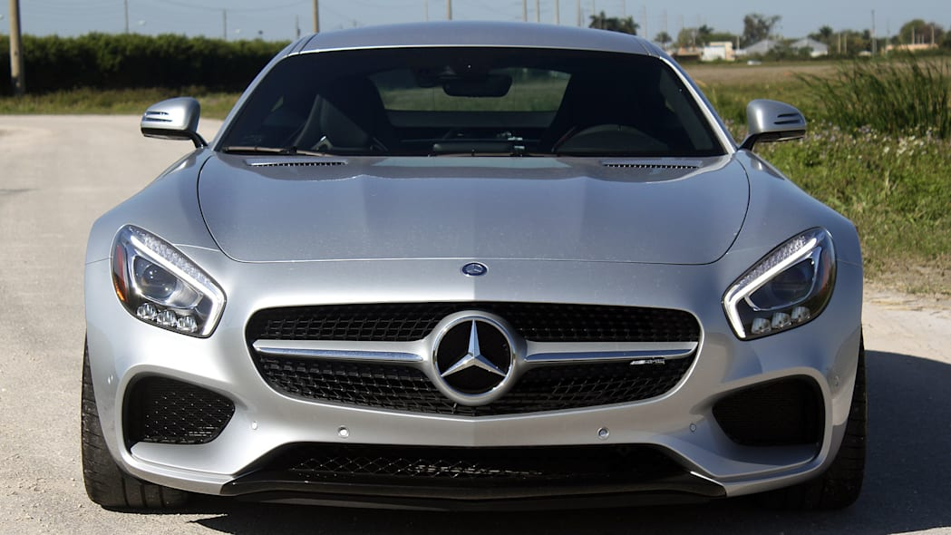 Mercedes-AMG GT S front view