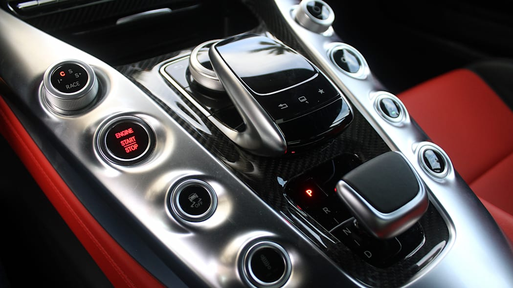 Mercedes-AMG GT S center console