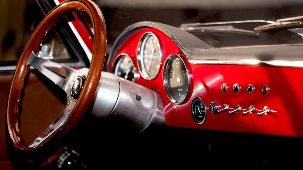 Effeffe Berlinetta dashboard