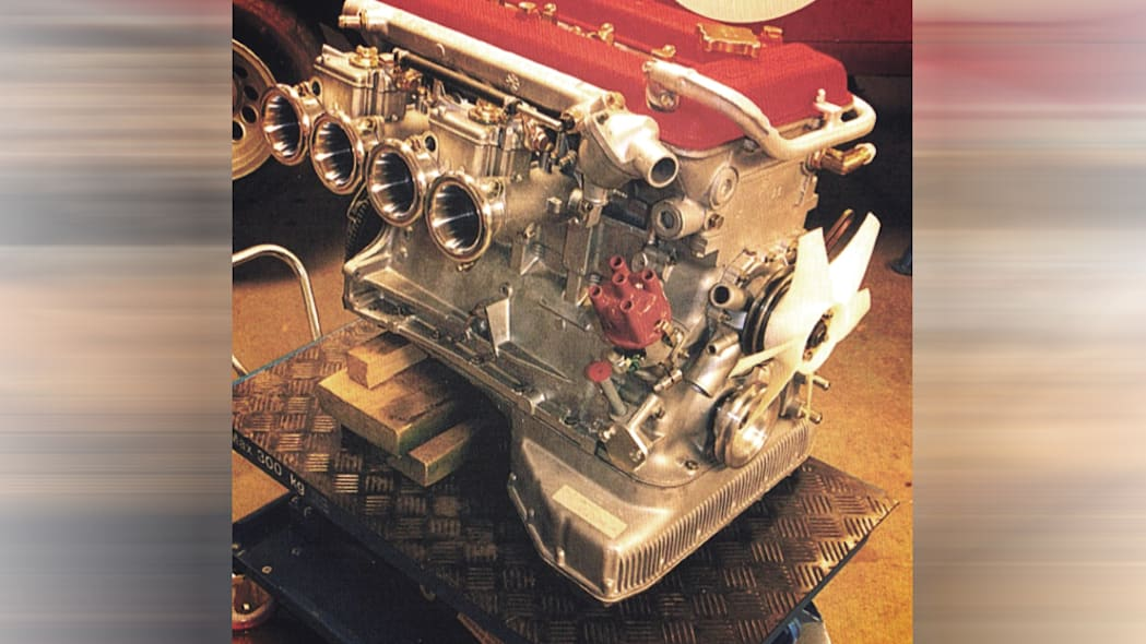 Effeffe Berlinetta's Alfa Romeo engine